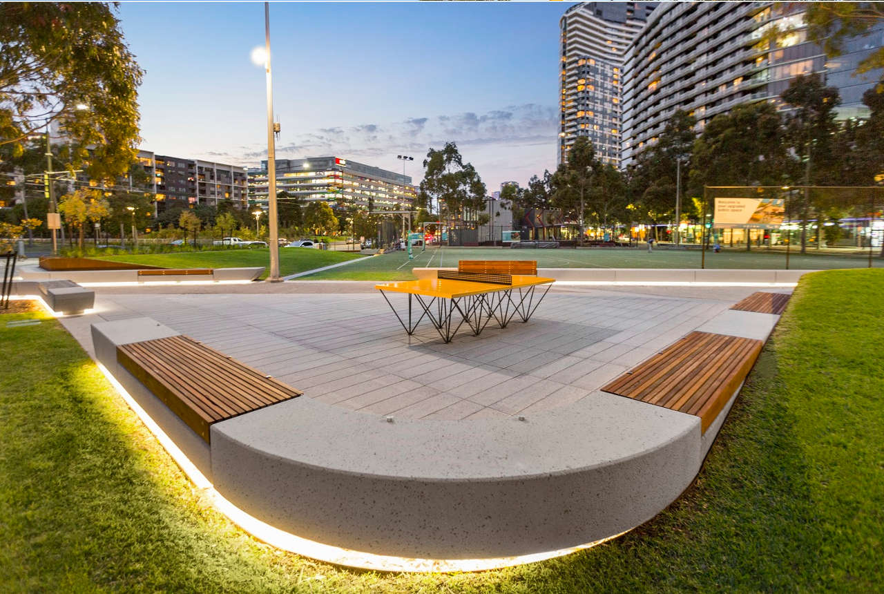 Docklands Park Stage 2 Svc