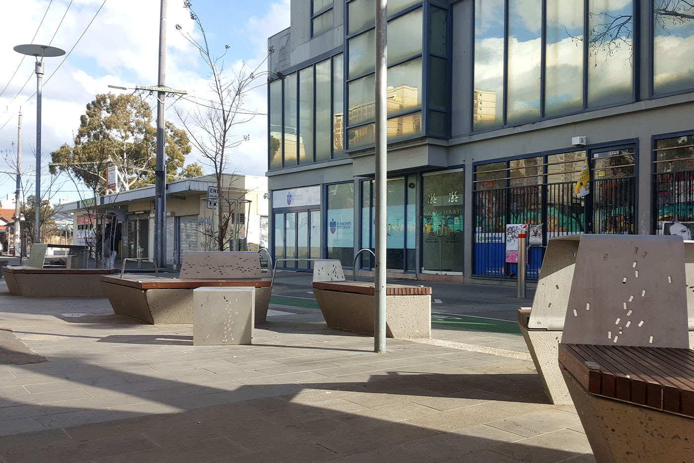 How Concrete Furniture Can Assist Street Transformation